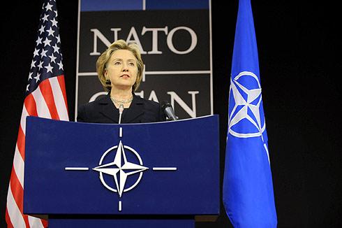 Hillary Clinton, en Bruselas. | AFP