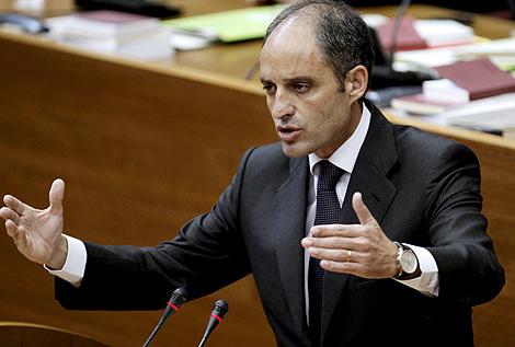 El presidente de la Generalitat, Francisco Camps. | Efe
