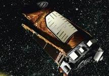 Recreación del Kepler en órbita. | NASA