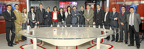 Equipo directivo y presentadores. | Ical