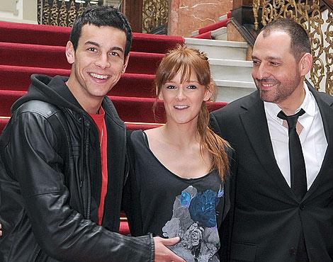 Mario Casas, Ana Polvorosa y Alfonso Albacete en Las Palmas.