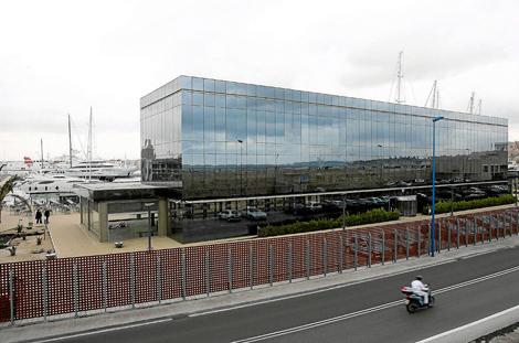El edificio del puerto tarraconense.| J. Antonio