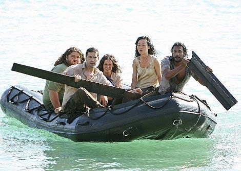 Imagen de una escena de la serie 'Perdidos'