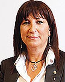 La concejala Blanca Rosa Alcántara