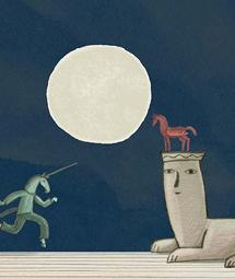 Ilustración de 'El elfo y la princesa'