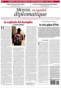 Última portada de 'Le Monde' en español.