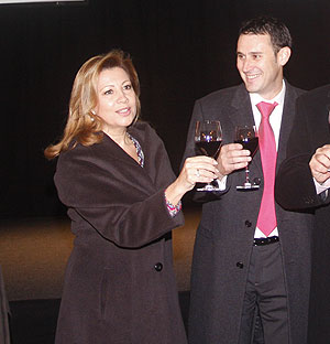 Munar y Martorell en una fiesta de IB3   Jordi Avellà