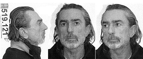 Ficha policial de Francisco Correa. | Veo7