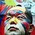 Un activistan en favor de los derechos humanos en el Tíbet.