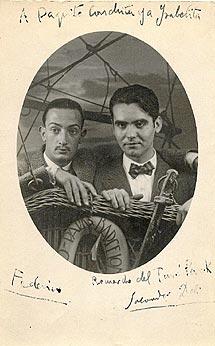 Dalí y Lorca fueron buenos amigos. | Fundación Federico García Lorca