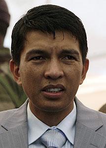 Rajoelina. | Reuters
