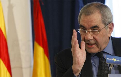 Maragall, en una reunión en Madrid. | EFE