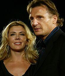 Natasha Richardson y Liam Neeson. | AP