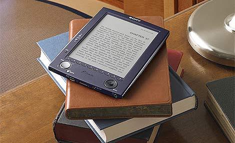 El Sony Reader es, aproximadamente, del tamaño de un libro. (Foto: Sony)