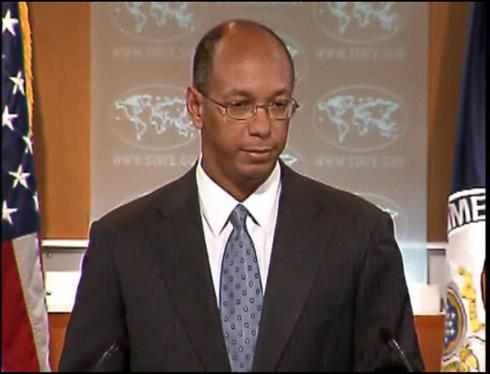 El portavoz en funciones del Departamento de Estado, Robert Wood.