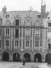 La casa de Víctor Hugo.