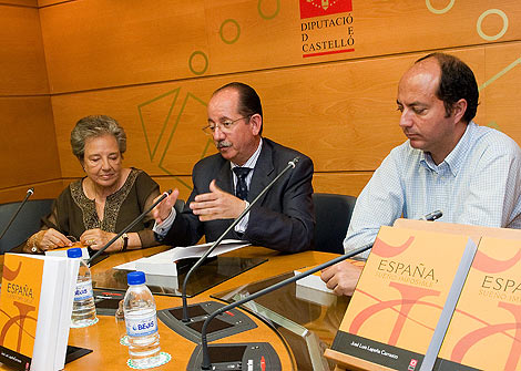 Presentación del libro en la Diputación de Castellón.