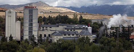 Destilería de whisky DYC en Palazuelos de Eresma (Segovia). | Ical