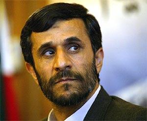 El presidente electo iraní Mahmud Ahmadinejad. (Foto: AFP)