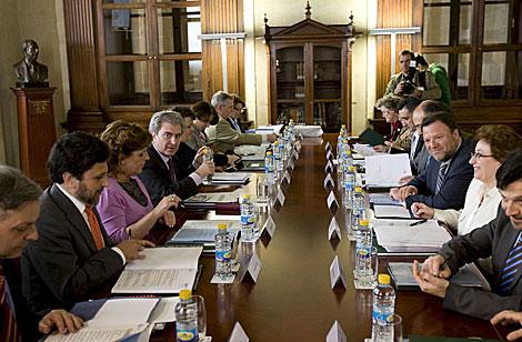 Reunión del Patronato del Alcázar, presidido por el ministro de Cultura.   Efe