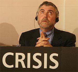 Conferencia del Nobel de Economía de 2008, Paul Krugman, dentro de las Jornadas de respuestas ante la crisis. (Foto: Carlos Márquez)