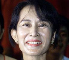 Aung San Suu Kyi. | Reuters