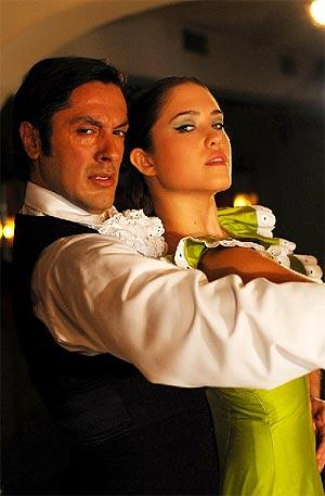 Fotograma de la serie de Televisión de Antena 3 'Marisol'.