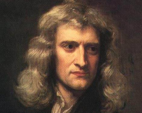Isaac Newton, por Godfrey Kneller (1689).