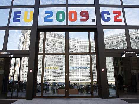 El edificio del Consejo Europeo en Bruselas durante la última cumbre. | Reuters