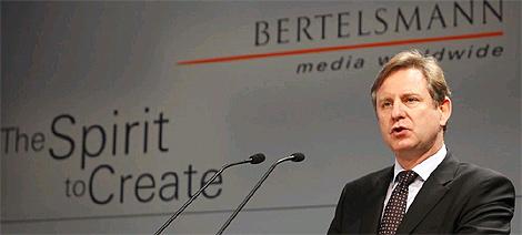 El director general de Bertelsmann Hartmut Ostrowski. (Foto: AP)