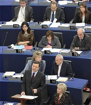 Varios eurodiputados en el PE   Efe