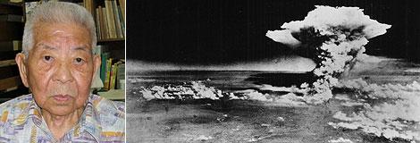 Tsutomu Yamaguchi y la explosión de Hiroshima. | AP