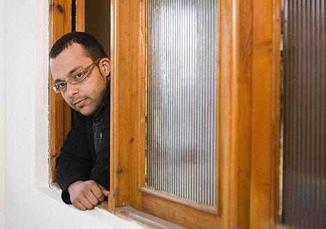 Samuel Alonso, el trabajador despedido. | José Carlos Guerra