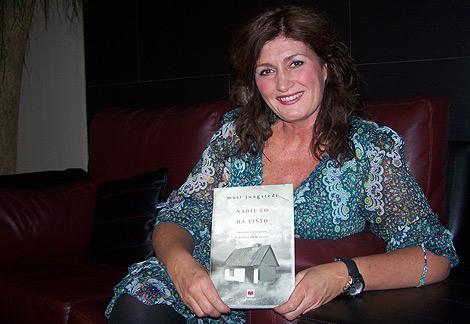 La escritora sueca Mari Jungstedt, autora de 'Nadie lo ha visto.   V.H.
