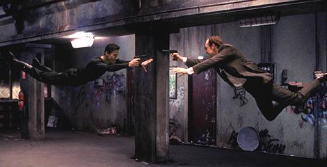 Fotograma de la película, escrita y dirigida por los hermanos Wachowski.