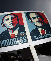 Obama y Sarkozy, comparados. | Reuters