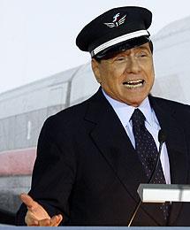 Berlusconi, en Roma. | Reuters