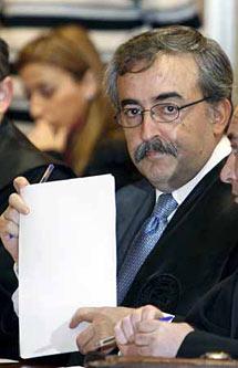 El juez Fernando Ferrín Calamita. (Foto: EFE)