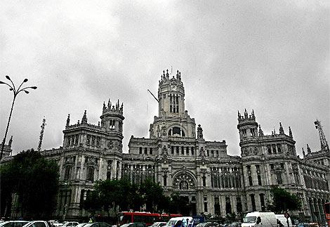 Imagen del Palacio de Correos, sede del Ayuntamiento. (EM)