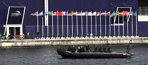 El centro de congresos Excel, sede de la cumbre. | AP