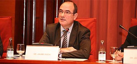 Jaume Duch, en una intervención. | Parlamento Europeo.