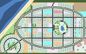 Recreación de lo que se ha presentado a Guinea como desarrollo urbanístico | Elmundo.es