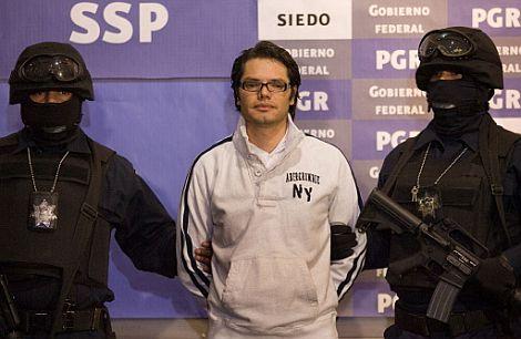 Vicente Carrillo Leyva, tras su detención. | Ap