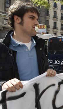 Protestas de Universitarios por la Vida   Efe