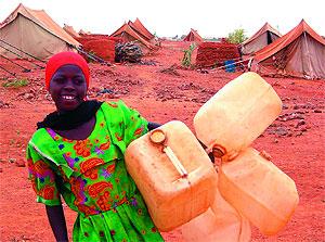 Una lugareña en busca de agua en Chad. (Foto: El Mundo)