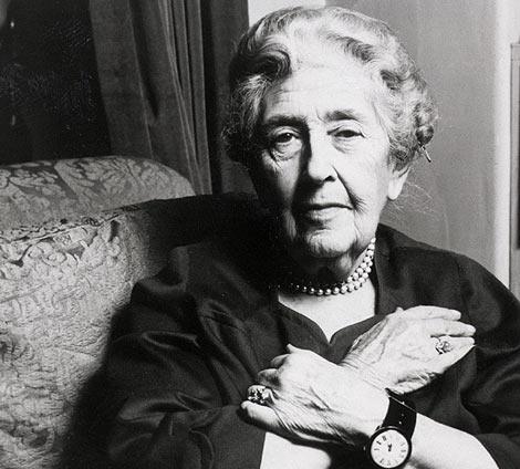 Agatha Christie.  Foto: Archivo