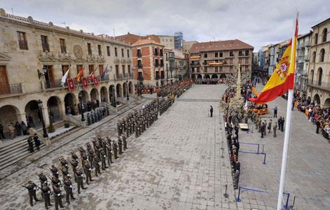 Acto conmemorativo del V Centenario del Regimiento de Infantería Ligera Soria 9.   Ical