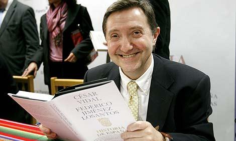 Jiménez Losantos, durante la presentación del libro 'Historia de España'. (Alberto Di Lolli)