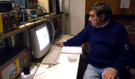 El geólogo Giampaolo Giuliani. | Efe