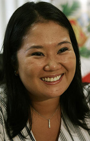 Keiko Fujimori. (Foto: K. Navarro)
